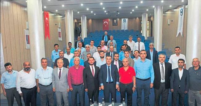 Osmaniye Valisi Al sanayinin kalbinde