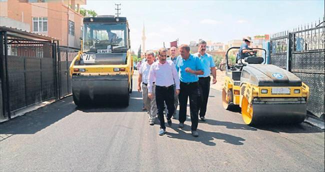 Yenidoğan'da sokaklar tamamen asfaltlanıyor