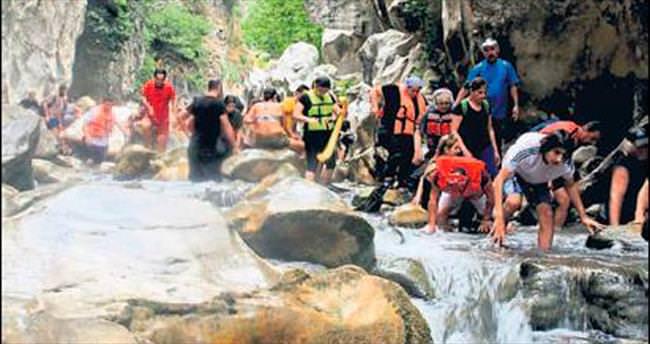 Kisecik Kanyonu tutkunları bekliyor