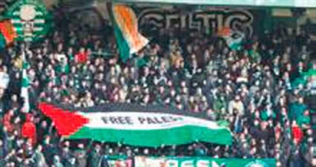 Celtic UEFA'ya karşı Filistin'in yanında