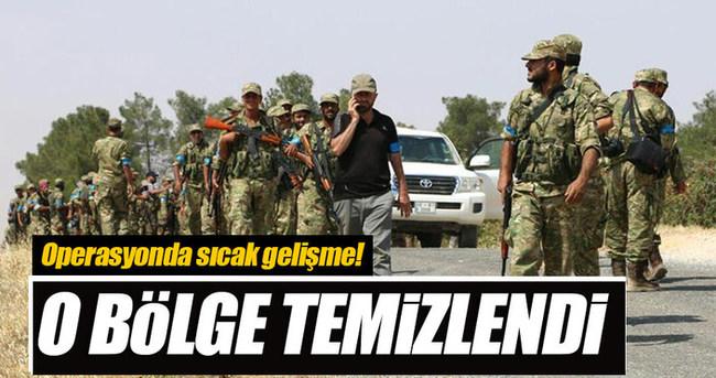 Özgür Suriye Ordusu Keklice'yi DAEŞ'ten temizledi