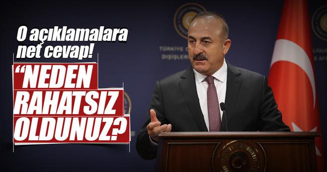 Dışişleri Bakanı Çavuşoğlu operasyonun ardından ilk kez konuştu