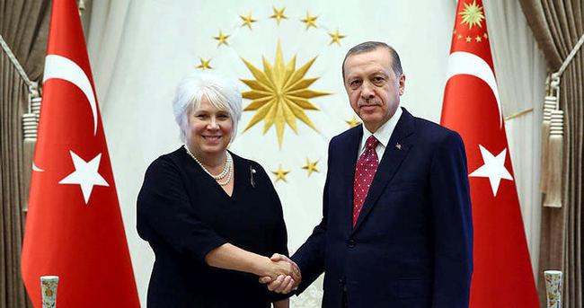 Erdoğan AB Konsey Başkanı'nı kabul etti