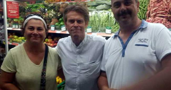Hollywood yıldızı Willem Dafoe Marmaris'te