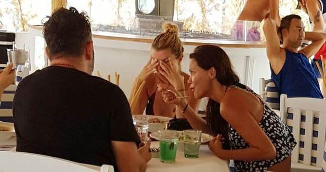 Ebru Şallı sevgilisinin evinden fotoğraf paylaşınca olanlar oldu!