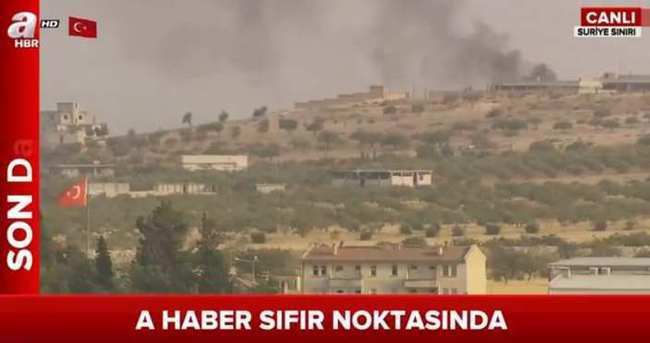 Kaçan DAEŞ'lilere hava operasyonu düzenleniyor