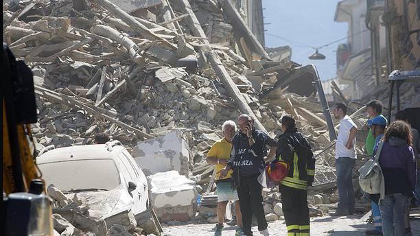 İtalya'daki depremde bilanço ağırlaşıyor!