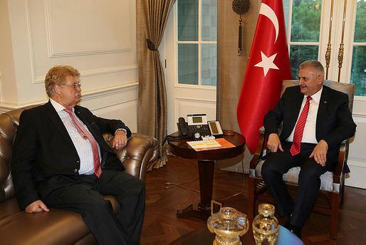 Başbakan Yıldırım, AB heyetini kabul etti!