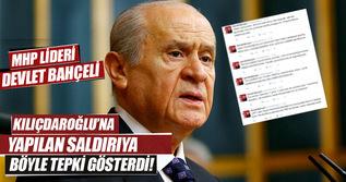 Devlet Bahçeli, Kemal Kılıçdaroğlu'na yapılan saldırıya twitter'da tepki gösterdi