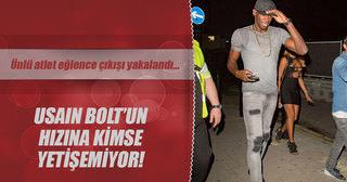 Usain Bolt'un hızına kimse yetişemiyor!