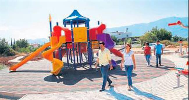 Başkan Genç'ten parklara sıkı takip