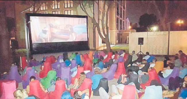 Mahall Bomonti'de sinema keyfi