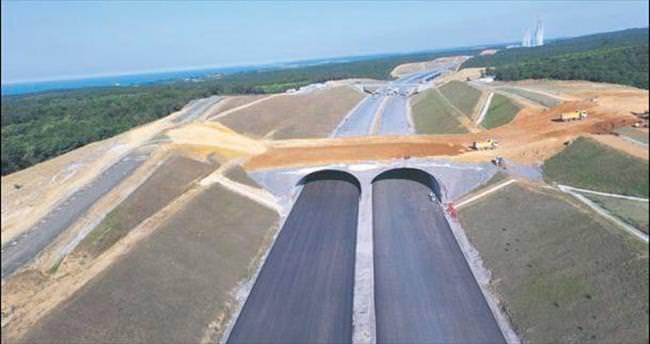 Kuzey Marmara Otoyol Projesi tam gaz ilerliyor