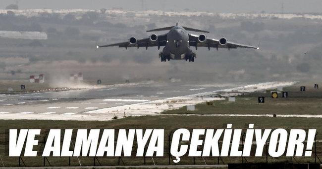 Alman ordusu İncirlik'teki uçaklarını çekmeyi değerlendiriyor