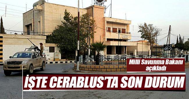 Bakan Fikri Işık Cerablus operasyonu ile ilgili son durumu açıkladı
