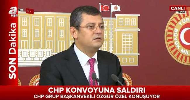 CHP Grup Başkanvekili Özel konuşuyor