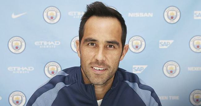 Bravo resmen Manchester City'de