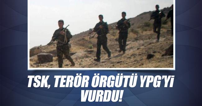 TSK, YPG'yi vurdu!