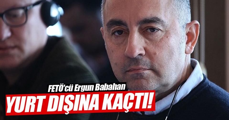 Ergun Babahan Bodrum'dan gemiyle kaçmış