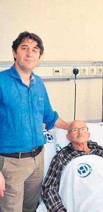 Karaciğeri büyütülen hasta yaşama döndü
