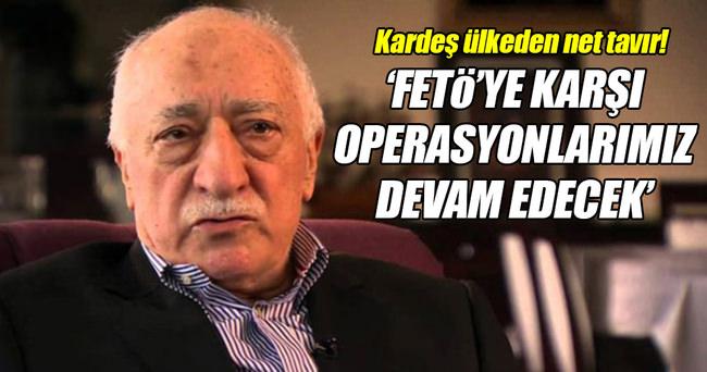 AZERBAYCAN: FETÖ'YE KARŞI OPERASYONLARIMIZ DEVAM EDECEK