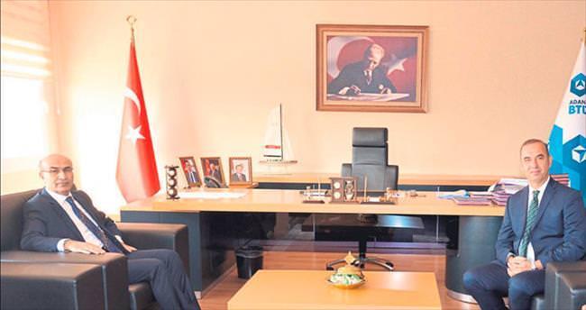 Vali Demirtaş'tan ABTÜ'ye ziyaret