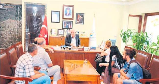 Başkan Seyfi Dingil vatandaşlarla buluştu