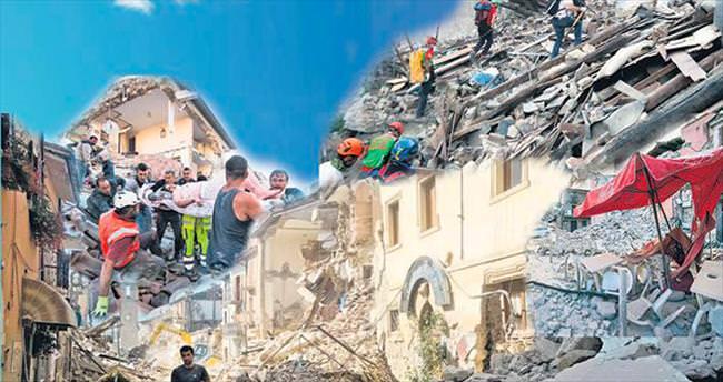 İki kasabayı deprem yuttu