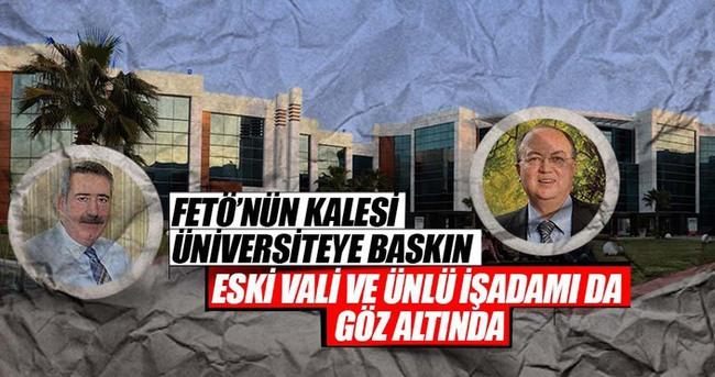Gediz Üniversitesi'ne FETÖ baskını: 86 gözaltı kararı