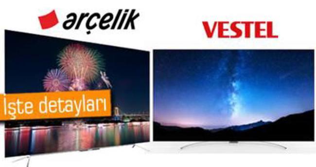 Vestel ve Arçelik'ten Türkiye'nin ilk OLED TV'leri
