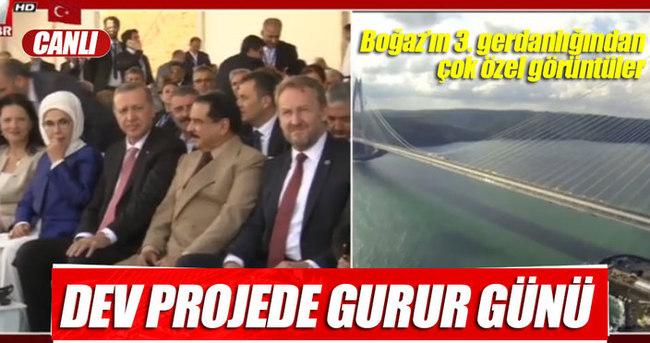 Türkiye'nin gurur projesi açılıyor - CANLI