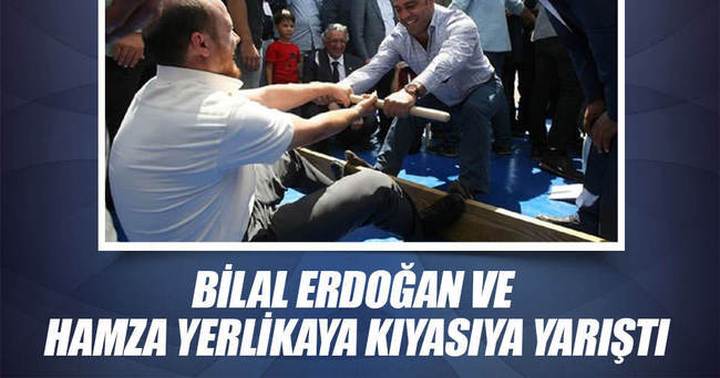 Bilal Erdoğan ve Hamza Yerlikaya kıyasıya yarıştı