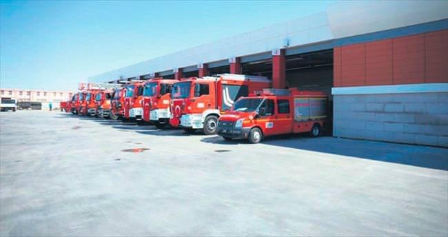 Yangın eğitimi OSB İtfaiyesi'ne emanet
