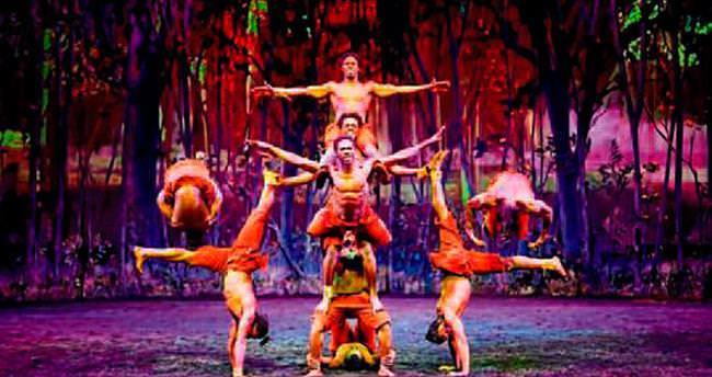 Afrikalı akrobatlar Antalya'ya geliyor