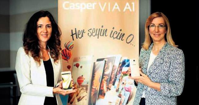 Casper VIA V1, 4.5G ve performansa odaklandı