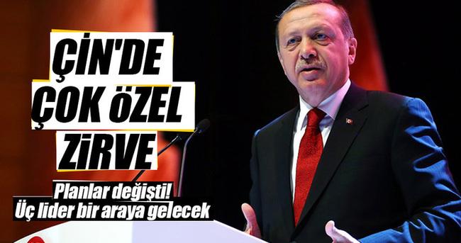 Erdoğan, Obama ve Putin'le G-20'de buluşacak