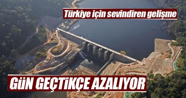 Türkiye'nin elektrik ithalatı yüzde 46 azaldı