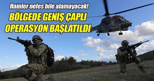 Şemdinli'de terör örgütüne geniş çaplı operasyon!
