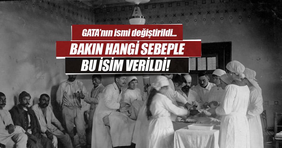 GATA'nın yeni ismi Haydarpaşa Sultan Abdülhamid Eğitim ve Araştırma Hastanesi oldu