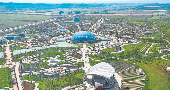 EXPO'ya 2 milyon ziyaretçi