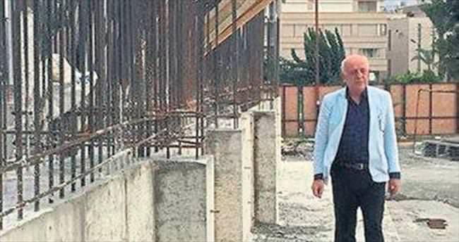 İskenderun Sahil Cami inşaatı hızla ilerliyor