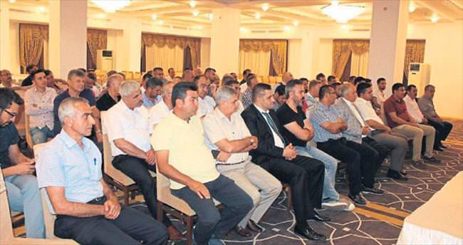 Başkan Akdoğan müteahhitleri dinledi