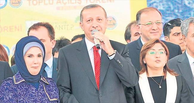 R. Tayyip Erdoğan bugün Gaziantep'te