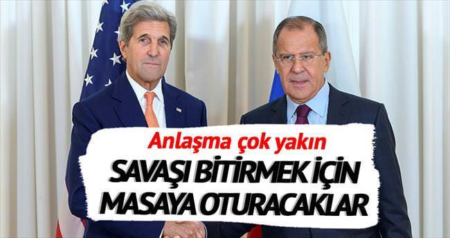 ABD ve Rusya anlaşmaya yakın
