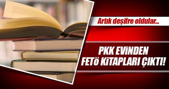 PKK evinden FETÖ kitapları çıktı
