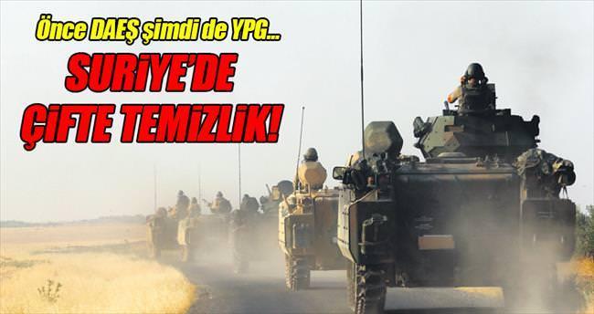 Suriye'de çifte temizlik... Mehmetçik YPG'yi vurdu