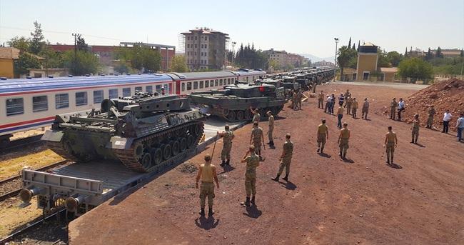 İstanbul'dan Gaziantep'e tank sevkiyatı