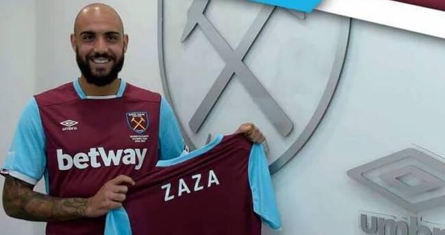 West Ham'ın yeni golcüsü Zaza