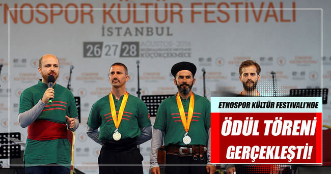 Etnospor Kültür Festivali, ödül töreni ile tamamlandı