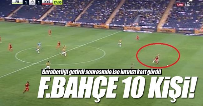 Fenerbahçe Kadıköy'de 10 kişi!